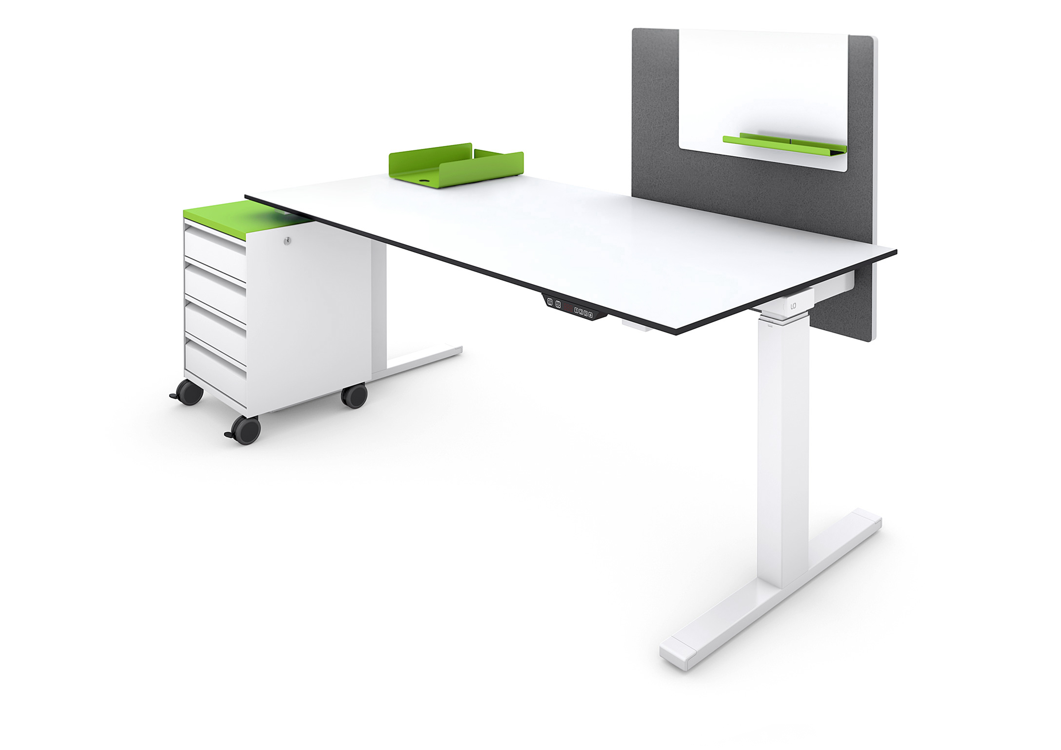 Nouvelle table assis debout lista office lo extend - Office allemand d echanges universitaires ...